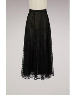 Lola Silk Skirt