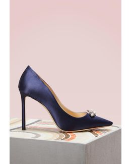 Alexa 100 Satin Pumps