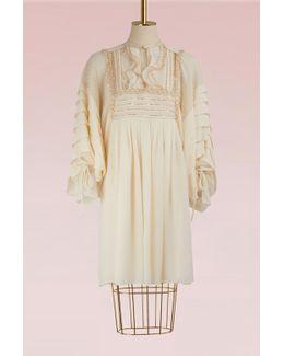 Light Silk Mini Dress