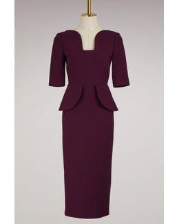 Comberton Wool Crepe Dress