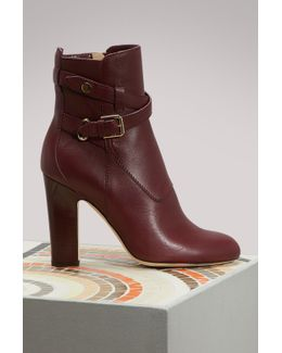 Mitchel 100 Leather Ankle Boots