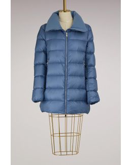 Torcyn Down Jacket With Wool Lining