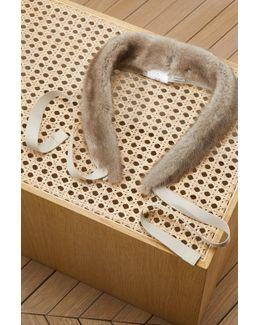 Asbuurg Mink Fur Collar