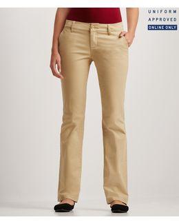 Curvy Core Twill Pants