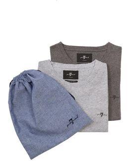 2 Pack T-shirts Light & Dark Grey