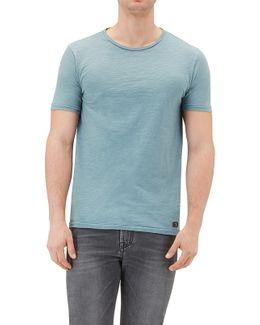 T-shirt Slub Indigo
