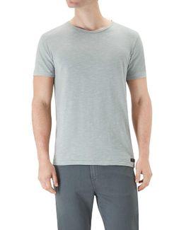 T-shirt Grey Slub