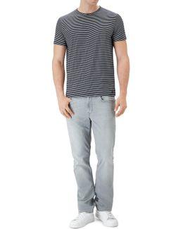 Striped T-shirt Navy