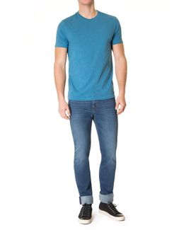 T-shirt French Blue