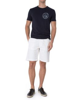 Clean Shorts Light Weight Off White