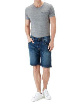 Clean Shorts Bubbelling Dark Blue