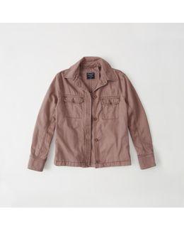 Swing Twill Shirt Jacket