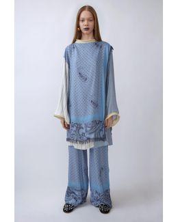 Buran Paisley paisley Blue