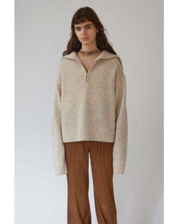 Sadea Wool ivory Melange