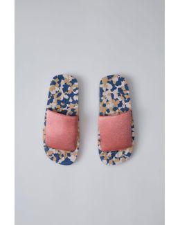 Tania Elastic pink/navy