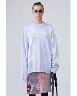 Bleach Printed Sweatshirt