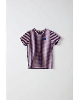 Mini Napa Face pale Pink / Royal Blue