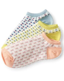 3-pack Checkered Ankle Socks