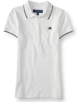 A87 Solid Single-tipped Piqué Polo