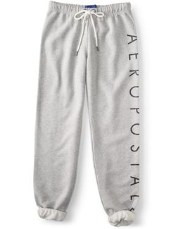 Aéropostale Logo Cinch Sweatpants