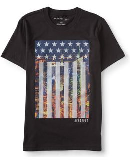 American City Flag Graphic T