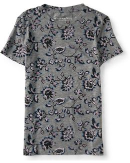 Bold Floral Tee