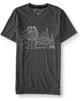 Brooklyn Bridge Graphic T