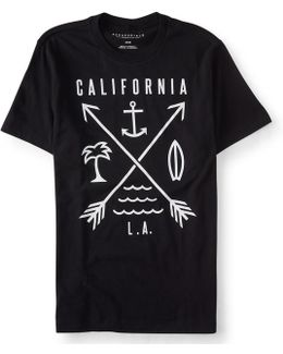 California Vibes Graphic T***