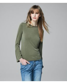 Cape Juby Bell Sleeve Top