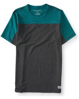 Colorblock Stretch Tee