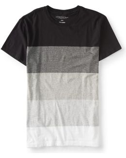 Colorblock Stripes Tee