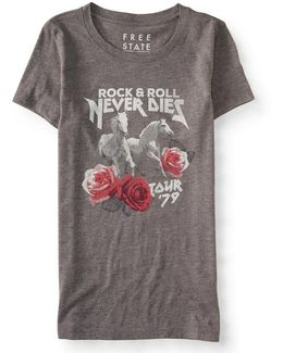 Rock And Roll Graphic T
