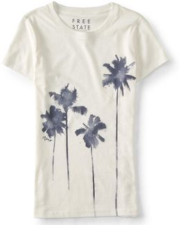 Watercolor Palms Graphic T