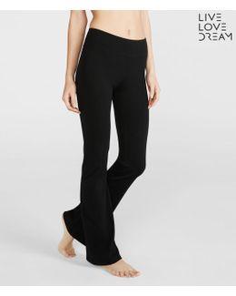 Lld Core Bootcut Yoga Pants***