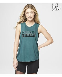 Lld Finish Line Muscle Tank