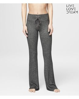 Lld Fuzzy Flare Sleep Sweatpants