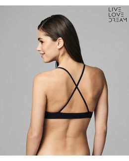 Lld Lace-up Bralette