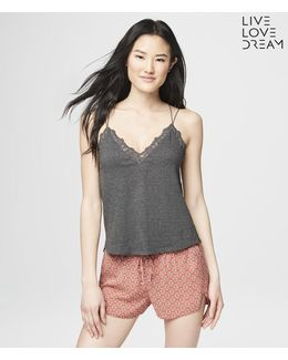 Lld Lace V-neck Sleep Cami