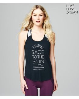 Lld Race To The Sun Racerback Tank