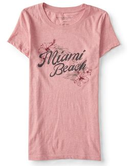 Miami Beach Graphic T