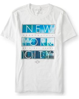 New York City Block Imagery Graphic T