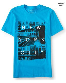 New York City Imagery Graphic T***