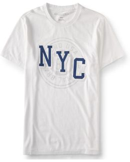 Nyc Original Brand Logo Graphic T