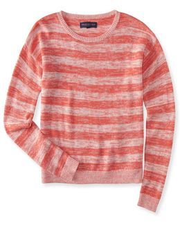 Preppy Striped Sweater