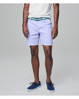 Prince & Fox Belted Stretch Chino Shorts