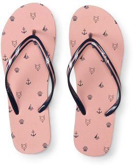 Prince & Fox Nautical Flip Flop