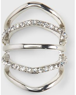 Rhinestone Knuckle Ring