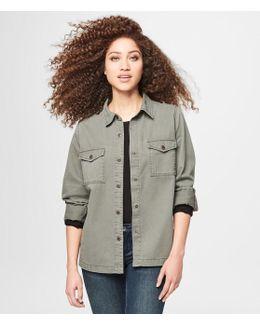 Sequin Car Shirt Jacket