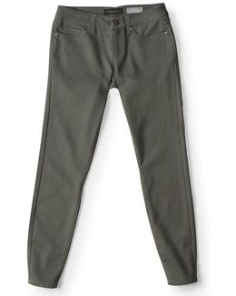 Seriously Stretchy Color Wash Ankle Jegging