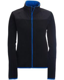 Solid Full-zip Fleece Jacket